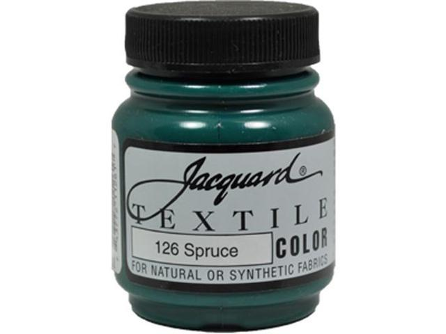 Jacquard Textile Color #126 SPRUCE 2.25oz Fabric Ink Garment Airbrush Paint