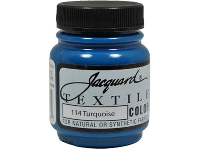Jacquard Textile Color #114 TURQUOISE 2.25oz Fabric Ink Airbrush Spray Paint