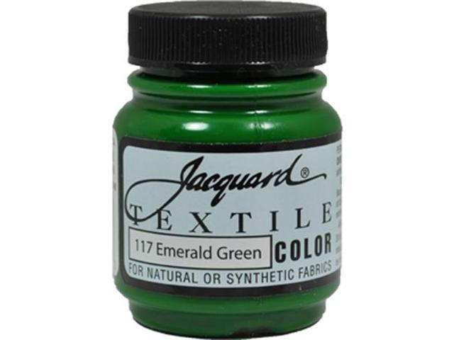 Jacquard Textile Color #117 EMERALD GREEN 2.25oz Fabric Ink Airbrush Paint