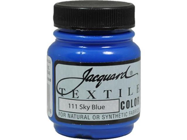 Jacquard Textile Color #111 SKY BLUE 2.25oz Colorfast Fabric Ink Airbrush Paint