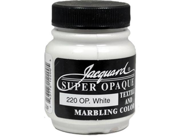 Jacquard Textile Color #220 SUPER OPAQUE WHITE 2.25oz Fabric Ink Airbrush Paint