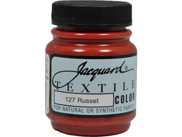 Jacquard Textile Color #127 RUSSET 2.25oz Fabric Ink Durable Airbrush Paint
