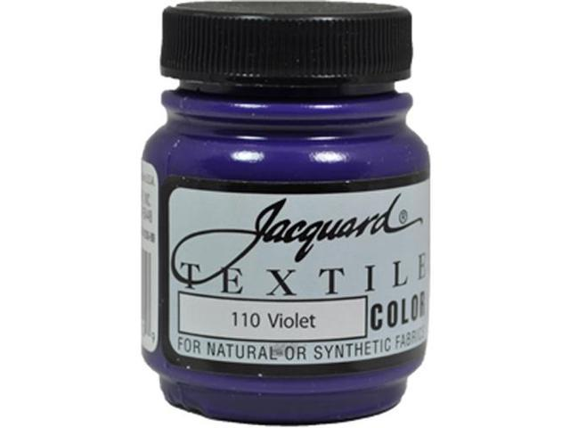 Jacquard Textile Color #110 VIOLET 2.25oz Lightfast Fabric Ink Airbrush Paint