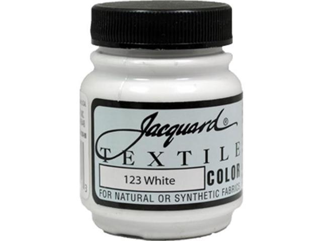 Jacquard Textile Color #123 WHITE 2.25oz Fabric Ink Garment Airbrush Paint