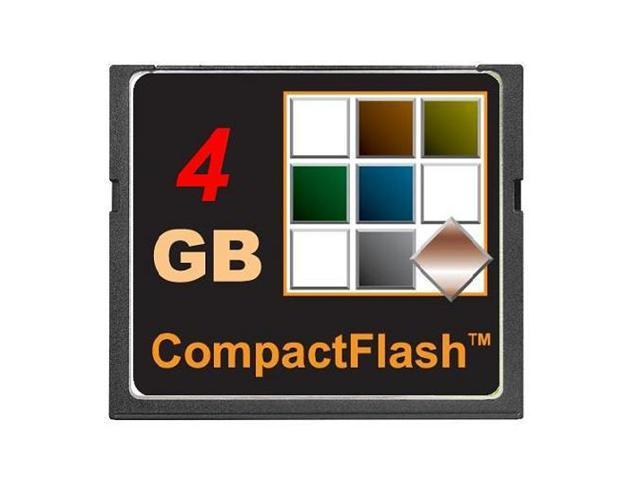 TOPRAM 4GB CF 4G CF CompactFlash Compact Flash Card SLC Flash 4 GB