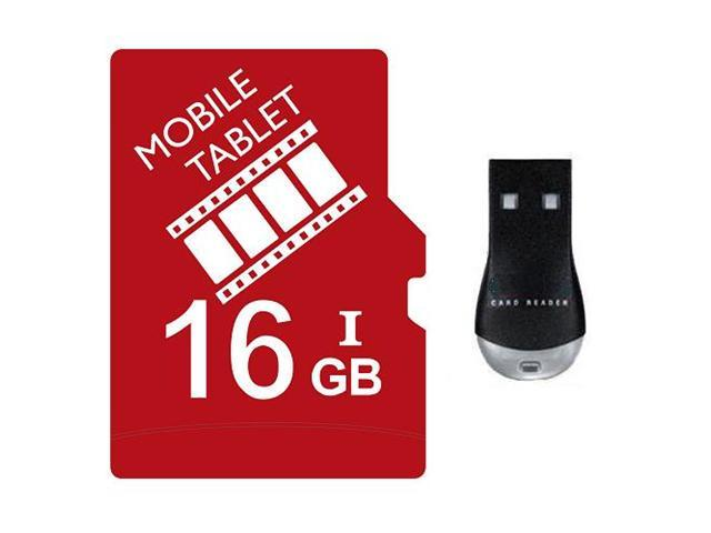 FilmPro 16GB 16G microSD microSDHC micro SD SDHC Card Class 10 Ultra High Speed UHS-I for Mobile & Tablet USB