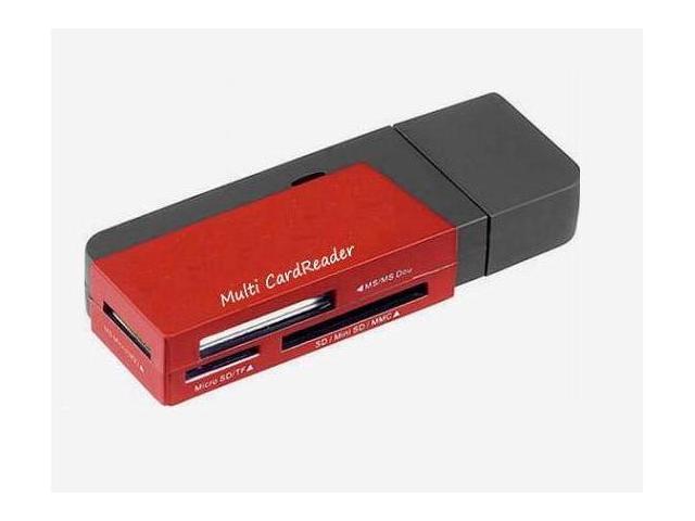 TOPRAM USB 2.0 SD SDHC SDXC High Speed Multi Function Card Reader R12, support Samsung Kingston SanDisk 4GB 8GB 16GB 32GB 64GB capacity