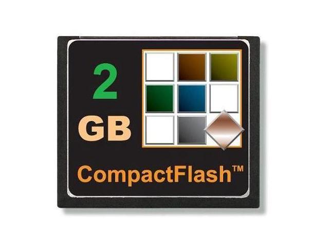 TOPRAM 2GB CF 2G CF CompactFlash Compact Flash Card SLC Flash 2 GB