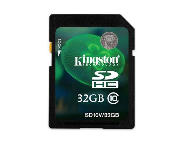 Kingston 32GB SD 32GB SDHC Secure Digital Card Class 10
