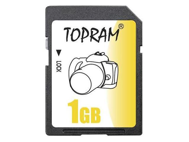 TOPRAM 1GB SD 1G SD Secure Digital Card - Bulk - OEM