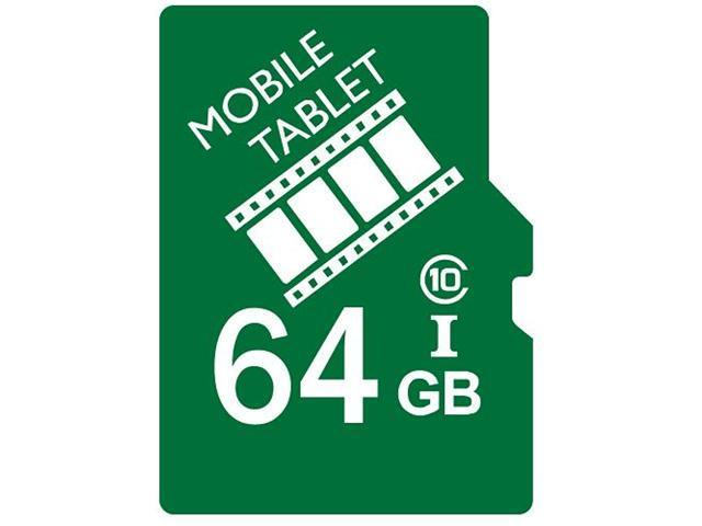 FilmPro 64GB microSD microSDHC 64G microSDXC micro SD SDHC UHS-I Class 10 Card for Tablet and Smart Phone fit Galaxy S3 S4