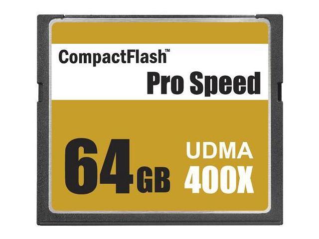 3C Pro 64GB CF 64G CompactFlash Card Extreme Speed UDMA6 RAW 400X