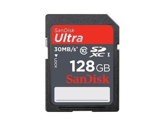 SanDisk 128GB SDXC 128G SD Ultra Secure Digital Card 30MB/s UHS-I 200X Class 10