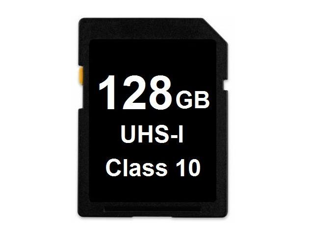 OEM 128GB SD SDHC 128GB SDXC Card Class 10 Ultra High Speed UHS-I for Camera & Camcorder - Blank