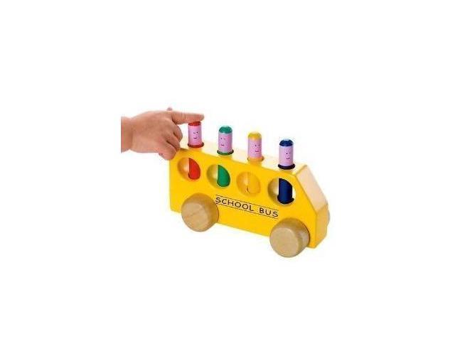 The Original Toy Pop Up School Bus Toy