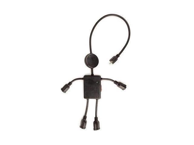 Electro Man Surge Protector - Black