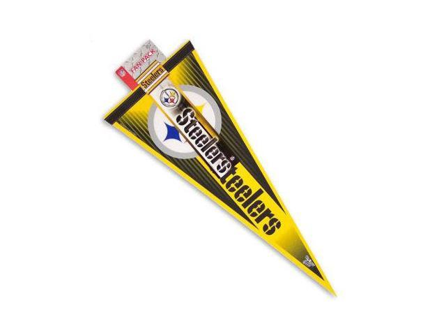 Pittsburgh Steelers Official NFL Various Button Bumper Sticker Pennant by Wincraft