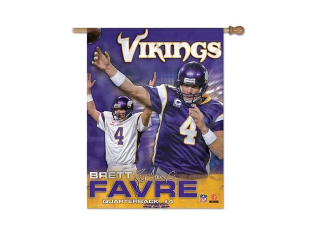 "Minnesota Vikings Official NFL 27""x37"" Banner Flag by Wincraft"