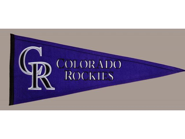 Winning Streak Sports Pennants 60090 Colorado Rockies Traditions