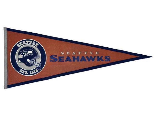 Winning Streak Sports 61728 Seattle Seahawks Pigskin Pennant