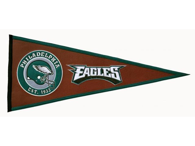 Winning Streak Sports 61723 Philadelphia Eagles Pigskin Pennant