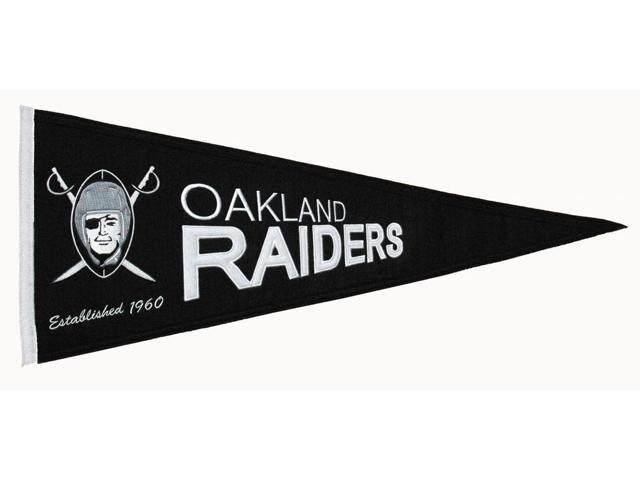 Winning Streak Sports Pennants 61221 Oakland Raiders Throwback