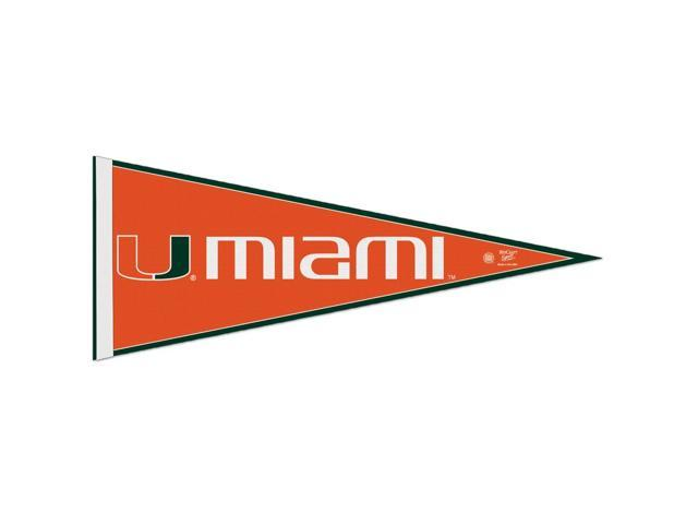 Miami Hurricanes Official NCAA 29 inch  Pennant by Wincraft