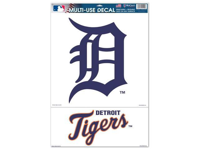 Detroit Tigers Official MLB 11 inch  x 17 inch  Car Window Cling Decal by Wincraft