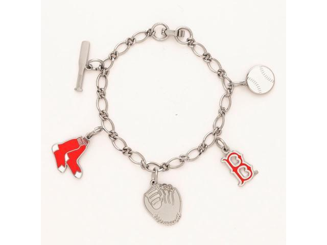 Boston Red Sox Official MLB 7 inch  Charm Bracelet by Wincraft