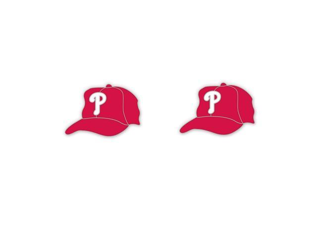"""Philadelphia Phillies Official MLB .75"""" Earrings by Wincraft"""