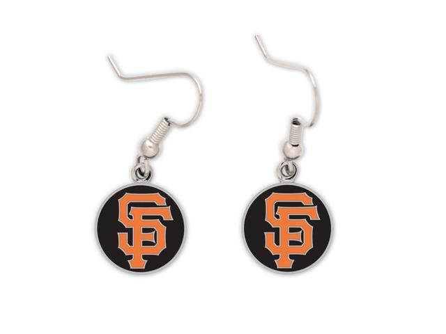 """San Francisco Giants Official MLB 2"""" long Earrings by Wincraft"""