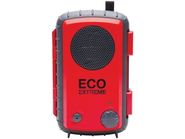 ECOXGEAR GDI-AQCSE107 EcoExtreme Waterproof & Ruggedized Speaker Case (Red)