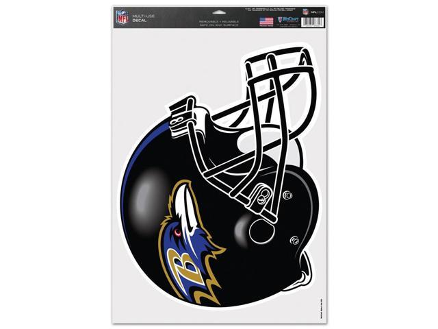 Baltimore Ravens Official NFL 11 inch  x 17 inch  Car Window Cling Decal by Wincraft