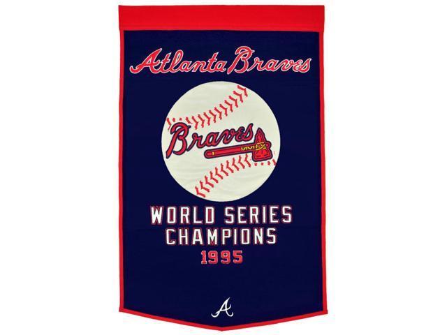 Winning Streak Sports 76115 Atlanta Braves Banner