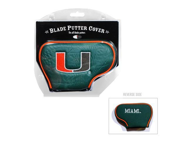 Team Golf 47101 Miami Hurricanes Blade Putter Cover