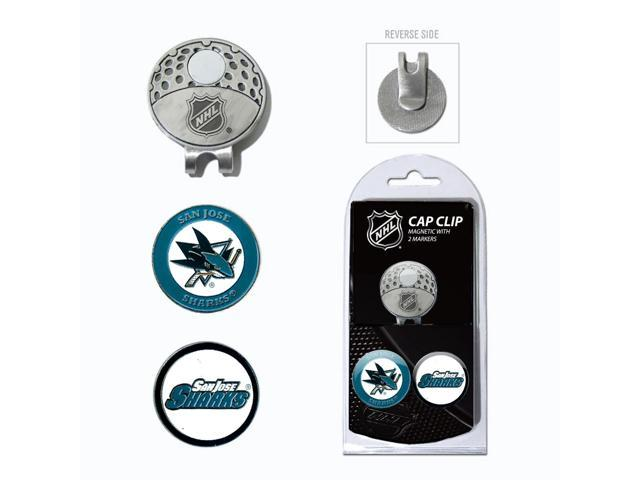 Team Golf 15347 San Jose Sharks Cap Clip