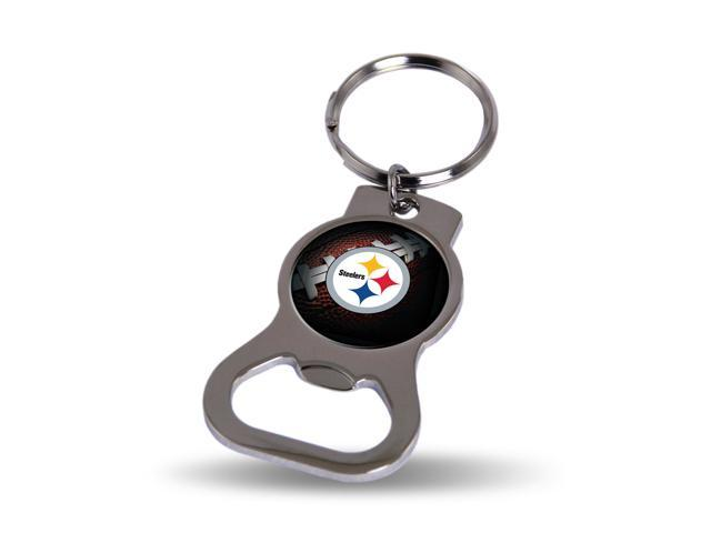 pittsburgh steelers key chain and bottle opener. Black Bedroom Furniture Sets. Home Design Ideas