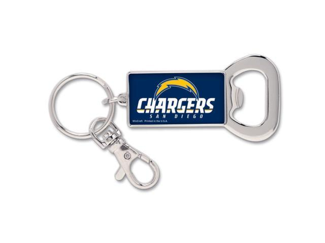 San Diego Chargers Bottle Opener Metal Key Chain (WC)