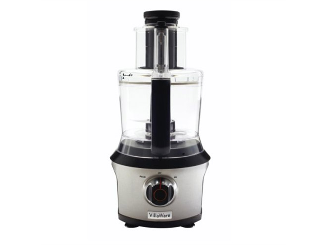 VillaWare NDVLFP1000 Stainless steel Food Processor