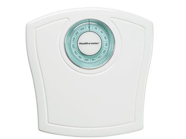 Health o Meter HAB117KD-01 White Dial Bath Scale NEW