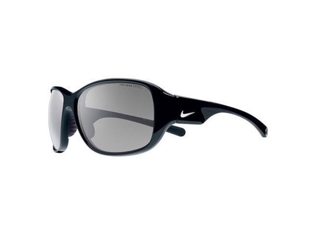 Nike Black Frame Glasses : Nike EV0765-067 Exhale Womens Sunglasses Black Frame Gray ...