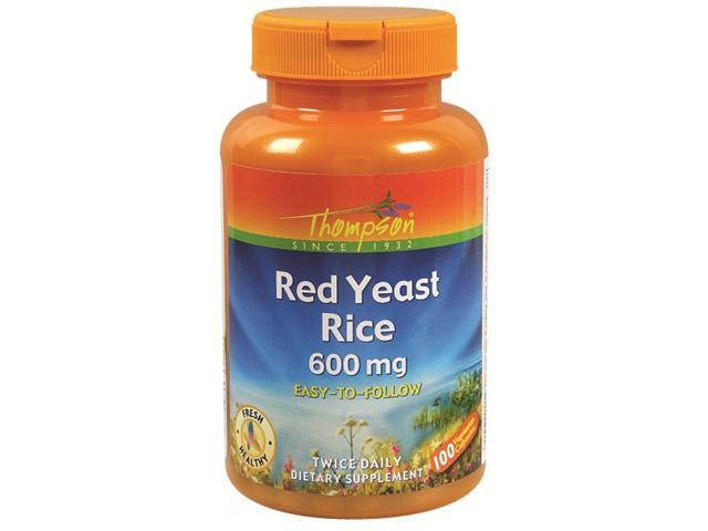 Red Yeast Rice - 100 - VegCap