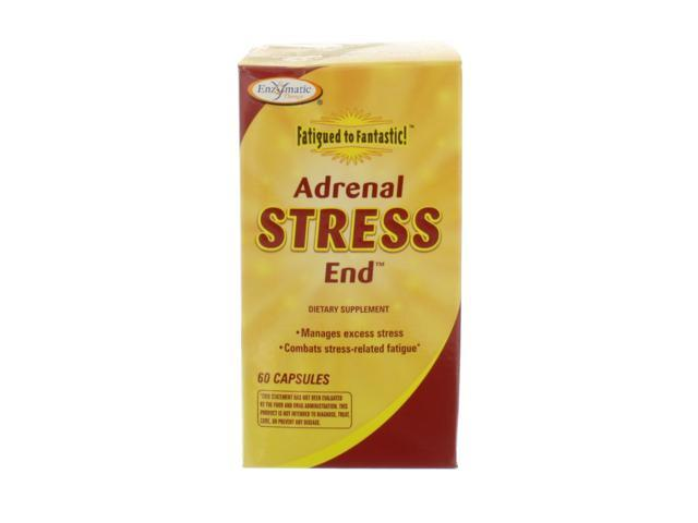 Fatigued to Fantastic! Adrenal Stress-End - Enzymatic Therapy Inc. - 60 - Capsule
