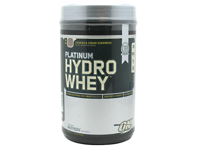 Platinum Hydrowhey Protein, Cookies & Cream, 1.75 lbs, From Optimum