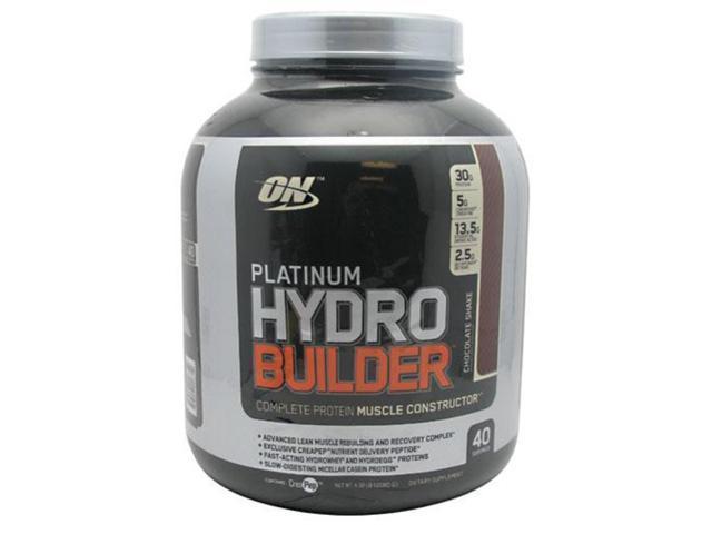 Platinum Hydrobuilder, Chocolate Shake, 4.59 lbs, From Optimum Nutrition
