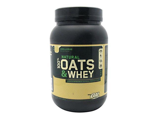 100% Natural Oats and Whey, Oatmeal Protein Shake, Milk Chocolate, 3 lbs, From Optimum