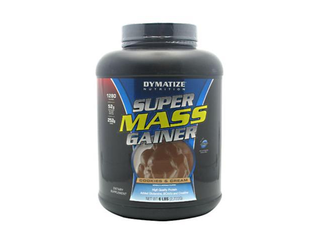Dymatize Nutrition Super Mass Gainer Cookies and Cream 6 lbs (2722 g)