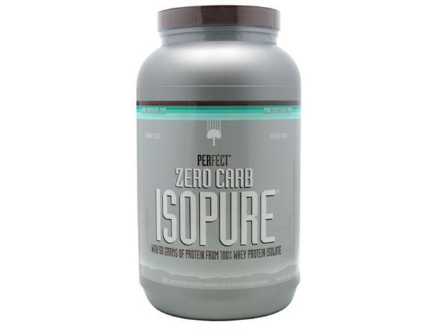 Nature's Best Perfect Zero Carb ISOPURE, Mint Chocolate Chip, 3 lbs