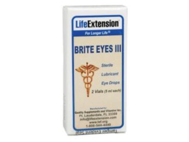 Brite Eyes III - Life Extension - 5 ml (2) - Liquid