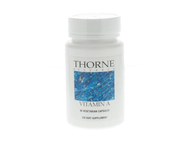 Thorne Research Vitamin A 90 Vegetarian Capsules
